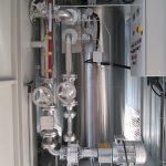 Caldaia ad olio diatermico verticale