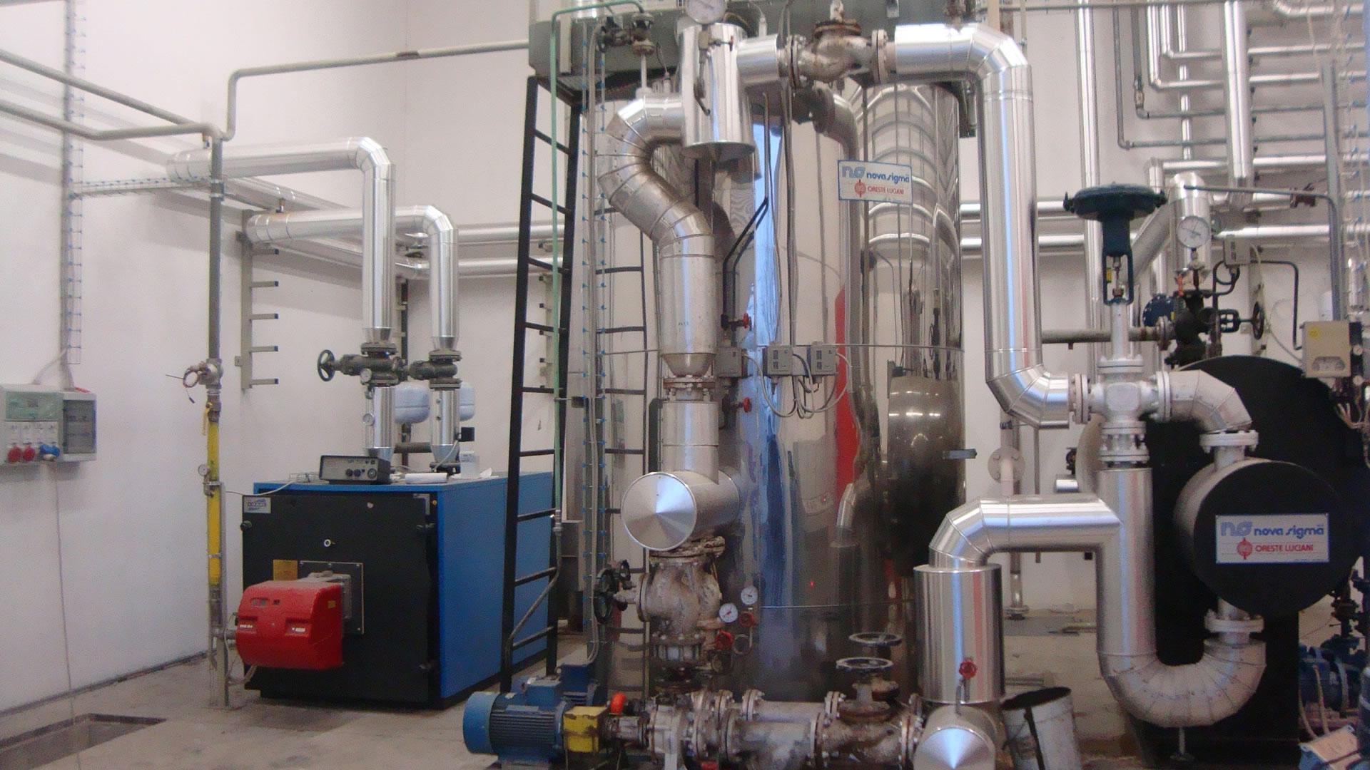 Impianti industriali delta tidelta ti for Caldaie usate a metano