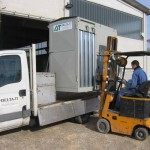Noleggio trasporto e carico caldaie
